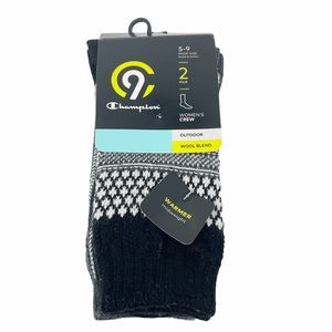 Champion Wool Blended Crew Outdoor Socks